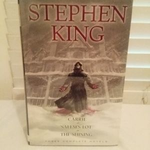 Stephen King: Three Complete Novels: Carrie; Salem